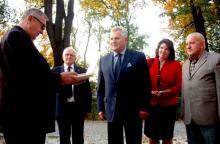 Prezydent Kwaśniewski w Jeleniej Górze