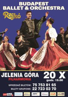 Budapest Ballet & Orchestra Rajko w Jeleniej Górze