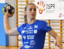 Izabela Świerżewska strzela bramki w każdym meczu KPR-u