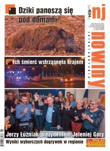 """W najnowszym wydaniu """"Nowin Jeleniogórskich"""" Nr 45/2018"""