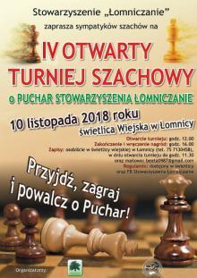 Szachowy turniej w Łomnicy