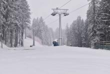 Zaczęli dośnieżanie stoków narciarskich