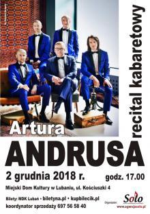 Artur Andrus w Lubaniu