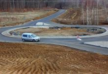 Rondo na skrzyżowaniu obwodnicy Maciejowej i ul. Dzierżonia jest już gotowe