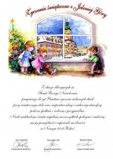 Życzenia świąteczne z Jeleniej Góry
