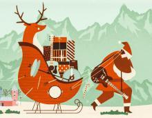 Retro Boże Narodzenie na powitanie roku w Szklarskiej Porębie