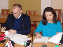 Podpisanie umowy na budowę ronda w Goduszynie