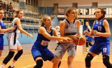 Półfinałowy turniej mistrzostw Polski koszykarek U-22K w Jeleniej Górze