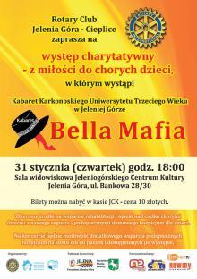 """Bella Mafia wystąpi """"Z miłości do chorych dzieci"""""""