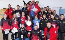 Karkonoscy mistrzowie sanek z Olimpiady Młodzieży