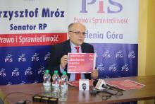 Senator Mróz o programie wyborczym PiS, nauczycielach i eurowyborach