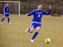Kapitan Karkonoszy Mateusz Firlej (nr 18) i Paweł Juźwik (nr 15) muszą grać skuteczniej.