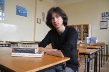 """Uczeń """"Żeroma"""" wyróżniony w konkursie reportażu"""