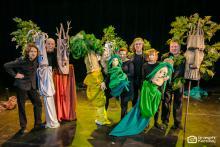 Las przenieśli do Zdrojowego Teatru Animacji