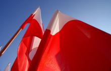 Flaga w prezencie od miasta