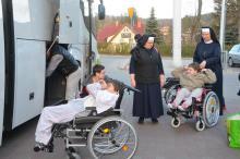 Pensjonariuszki DPS jadą do Liberca