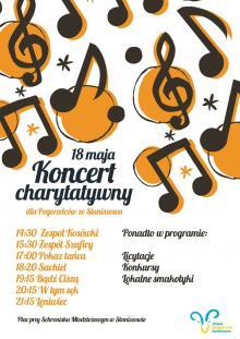 Koncert dla pogorzelców ze Staniszowa