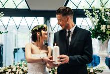 Pokazowy ślub w Norweskiej Dolinie