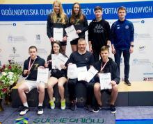 Badmintoniści KS Chojnik z medalami Olimpiady Młodzieży