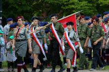 Harcerskie święto na pograniczu polsko-niemieckim
