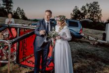 Wniebowzięci - ślub w balonie nad Lubomierzem