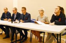 Drużyna MKS Karkonosze w I lidze kobiet