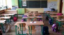 Szkoły (niektóre) otwarte - klasy puste