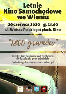 Letnie Kino Samochodowe we Wleniu