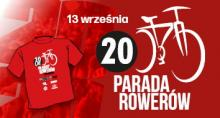 20. Parada Rowerów pojedzie 13 września