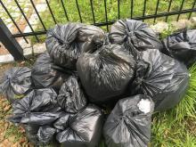 Mniej chętnych do sprzątania świata