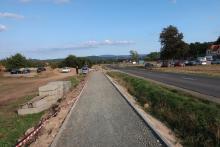 900 m trasy rowerowej koło Chojnika