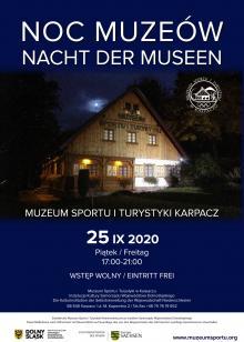 Noc Muzeów 2020 w Muzeum Sportu i Turystyki w Karpaczu