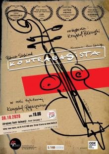 Kontrabasista Maski w Zdrojowym Teatrze Animacji