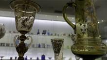 Muzealnicy oprowadzają po wystawie