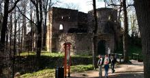 Zamknięty szlak z Janowic do zamku Bolczów