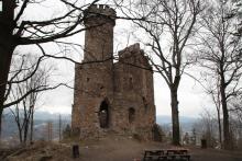 Zamek ks. Henryka w Staniszowie