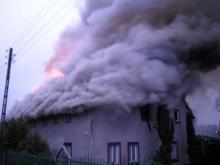 Pożar wybuchł nad ranem