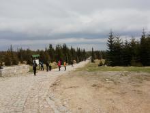 """Turyści wybierają """"majówkę"""" w Karkonoszach"""