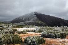 Śnieżka - widok z Równi pod Śnieżką (fot. A. Raj)