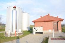 Stacja uzdatniania wody dla sołectwa Giebułtów ma wydajność 12,5 m sześć. na godzinę.