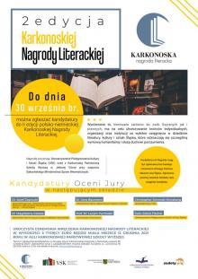 II edycja Karkonoskiej Nagrody Literackiej. Można zgłaszać kandydatów