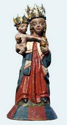 Figurka Matki Boskiej Wambierzyckiej Królowej Rodzin