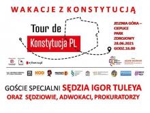 Sędziowie Tuleya i Juszczyszyn na Tour de Konstytucja w Jeleniej Górze