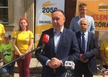 Grzegorz Stankiewicz liderem ruchu Polska 2050 w Jeleniej Górze