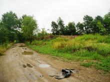 Nielegalne wyrobisko kruszywa pod Lwówkiem Śląskim