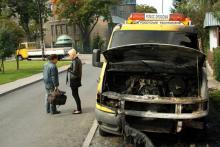Płoną auta pomocy drogowej
