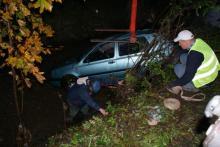 Policjant uratował troje młodych ludzi