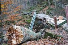 Zniszczony most odbudują jeszcze w tym roku