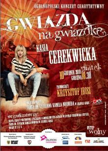 Świąteczny koncert z Kasią Cerekwicką!