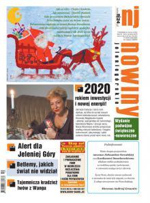W najnowszym świąteczno – noworocznym wydaniu Nowin Jeleniogórskich Nr 52-53/2019